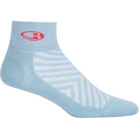 Icebreaker Run+ Ultra Light Mini Naiset sukat , sininen/valkoinen
